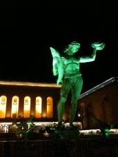 Poseidon, fitting symbol and meeting place in downtown Gothenburg